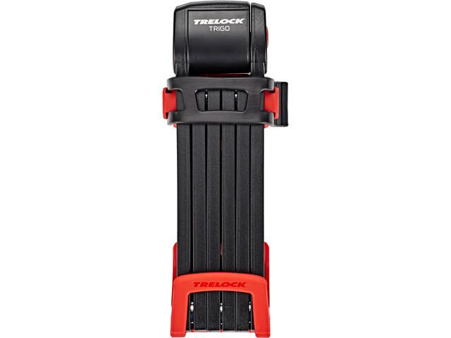Trelock FS 300 Trigo Antivol pliant support inclus, red